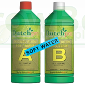 Dutchpro Soil Bloom A+B 1L SOFT WATER