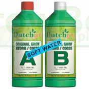 Dutchpro Soil Grow A+B 1L  SOFT WATER