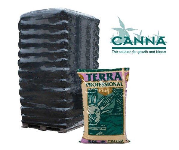 Canna Terra Professional + Plus 50L PALETA 60 WORKÓW